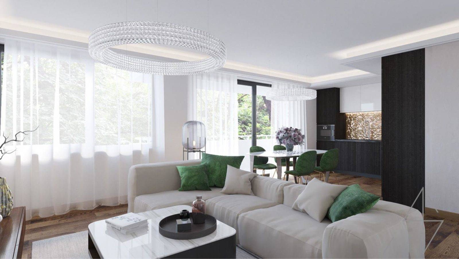 Obývací pokoj- Bytový design Praha