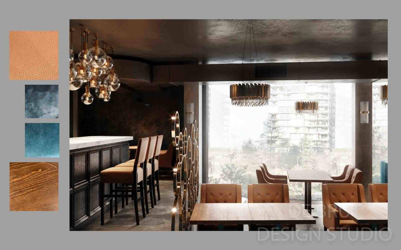design interieru praha alex brut studio richman bussines bar 8 1 - Design interiéru restaurace Richman