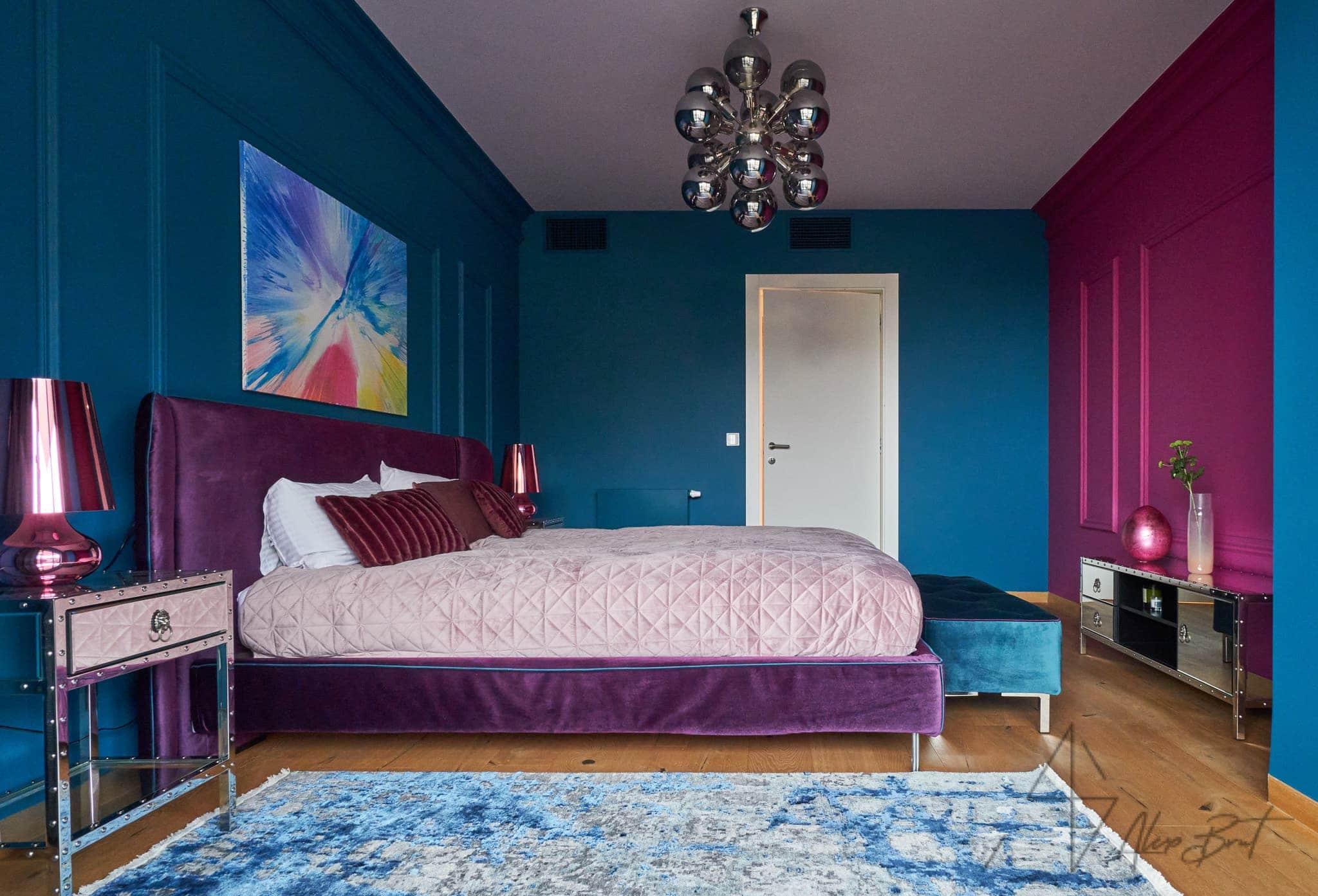 Návrh interiéru ložnice